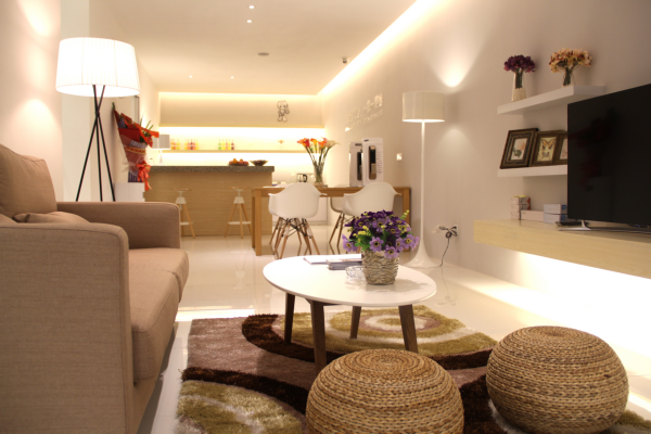 KOTI重庆智能家居体验厅客厅&餐厅体验区