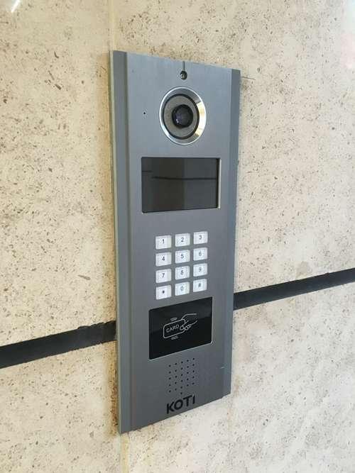 项目可视对讲KOTI大厅门口机